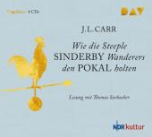 Wie Steeple Sinderby United den Pokal holte, 4 Audio-CDs Cover