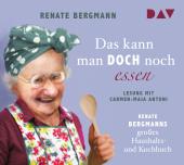 Das kann man doch noch essen. Renate Bergmanns großes Haushalts- und Kochbuch, 2 Audio-CDs Cover