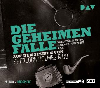 Die geheimen Fälle - Auf den Spuren von Sherlock Holmes & Co, 4 Audio-CDs