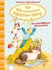 Die supergeheime Pfötchen-Gäng - Der Zwei-Millionen-Körnerschatz Cover