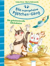 Die supergeheime Pfötchen-Gäng - Die geheimnisvolle Glückskatze Cover