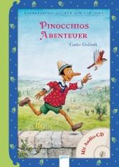 Pinocchios Abenteuer, m. Audio-CD