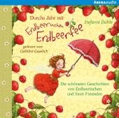 Durchs Jahr mit Erdbeerinchen Erdbeerfee, Audio-CD Cover