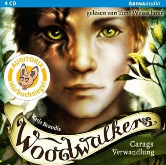 Woodwalkers - Carags Verwandlung, 4 Audio-CDs