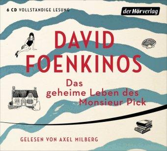 Das geheime Leben des Monsieur Pick, 6 Audio-CDs
