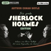 Die große Sherlock-Holmes-Edition, 2 MP3-CD Cover