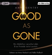 Good as Gone, 1 MP3-CD Cover