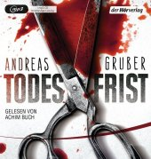 Todesfrist, 1 MP3-CD Cover