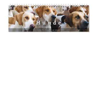 Literarischer Tischkalender Hunde 2018