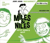 Miles & Niles - Jetzt wird's wild, 3 Audio-CDs Cover