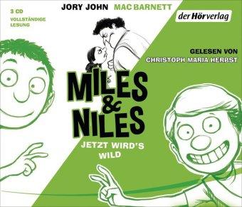 Miles & Niles - Jetzt wird's wild, 3 Audio-CDs