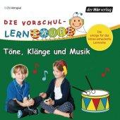 Die Vorschul-Lernraupe: Töne, Klänge und Musik, 1 Audio-CD Cover