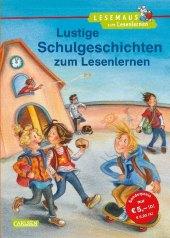 Lustige Schulgeschichten zum Lesenlernen Cover