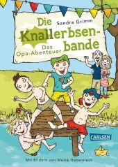 Die Knallerbsenbande: Das Opa-Abenteuer Cover