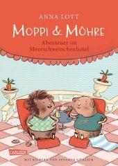 Moppi und Möhre - Abenteuer im Meerschweinchenhotel Cover