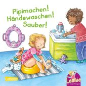 Leonie: Pipimachen! Händewaschen! Sauber! Cover