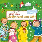 Sing mal: Lieder rund ums Jahr, m. Soundeffekten Cover