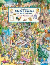 Viele bunte Sachen suchen mit Jakob und Conni: Wimmel-Märchen-Spaß Cover