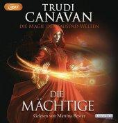 Die Magie der tausend Welten - Die Mächtige, 3 MP3-CDs Cover