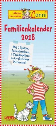Meine Freundin Conni Familienkalender 2018