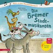 Die Bremer Stadtmusikanten, m. Audio-CD Cover