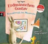 Erdmännchen Gustav - Kunstraub im Museum, 1 Audio-CD Cover