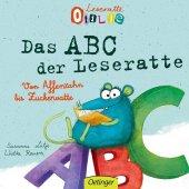Leseratte Otilie. Von Affenzahn bis Zuckerwatte, das ABC der Leseratte Cover