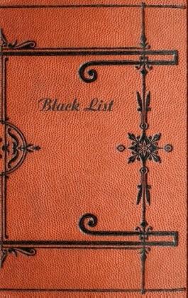 Black List (Notizbuch)