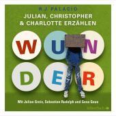 Wunder. Julian, Christopher und Charlotte erzählen, 3 Audio-CDs Cover