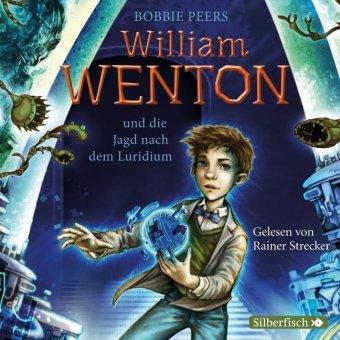 William Wenton und die Jagd nach dem Luridium, 3 Audio-CDs