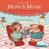 Moppi und Möhre - Abenteuer im Meerschweinchenhotel, 1 Audio-CD Cover