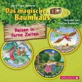 Das magische Baumhaus. Reisen in ferne Zeiten. Die Hörbuchbox, 3 Audio-CDs