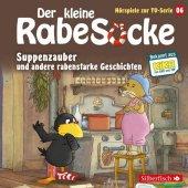Der kleine Rabe Socke - Suppenzauber und andere rabenstarke Geschichten, 1 Audio-CD Cover