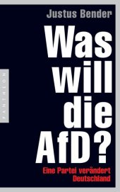 Was will die AfD? Cover