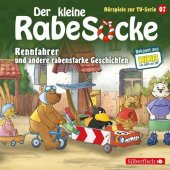 Der kleine Rabe Socke - Rennfahrer und andere rabenstarke Geschichten, 1 Audio-CD Cover