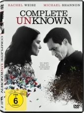 Complete Unknown (2016), 1 DVD Cover