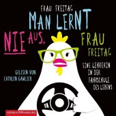 Man lernt nie aus, Frau Freitag!, 4 Audio-CDs Cover