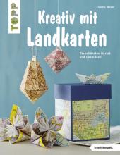 Kreativ mit Landkarten Cover