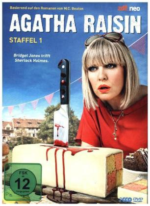 Agatha Raisin, 3 DVD