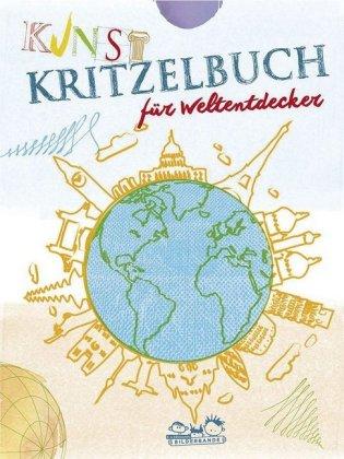 Kunstkritzelbuch für Weltentdecker
