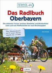 Das Radlbuch Oberbayern Cover