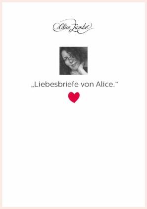 Liebesbriefe von Alice.