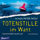 Totenstille im Watt, 4 Audio-CDs Cover