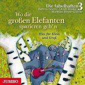 Wo die großen Elefanten spazieren geh'n, Audio-CD Cover