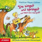 Du singst und springst und fühlst dich riesengroß!, Audio-CD Cover