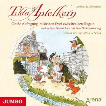 Tilda Apfelkern - Große Aufregung im kleinen Dorf zwischen den Hügeln, 1 Audio-CD