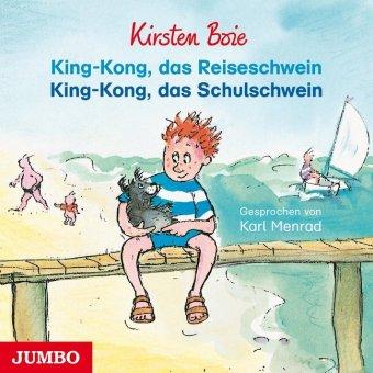 King-Kong, das Reiseschwein & King-Kong, das Schulschwein, 1 Audio-CD