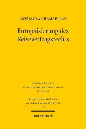 Europäisierung des Reisevertragsrechts