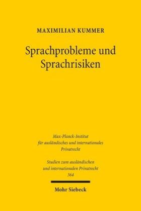 Sprachprobleme und Sprachrisiken