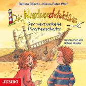 Die Nordseedetektive - Der versunkene Piratenschatz, 1 Audio-CD